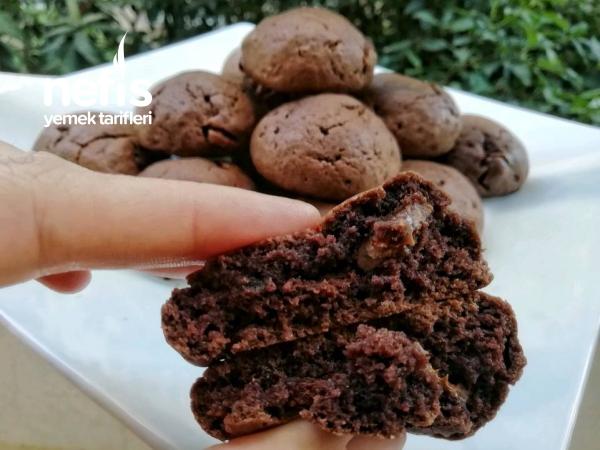 Bol Çikolatalı Yumuşak Kurabiye(videolu)