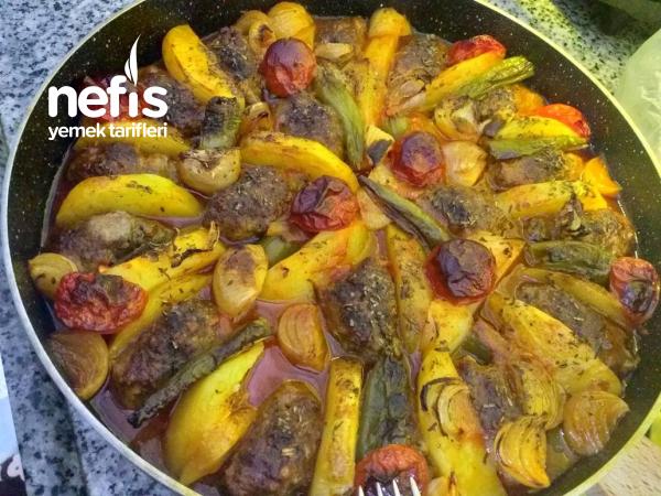 Fırın Yemeği  köfte Patates