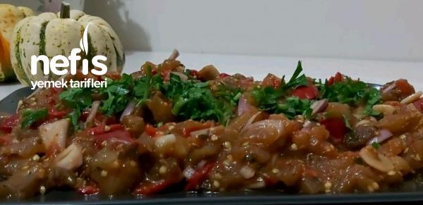 Közde Patlıcan Salatası