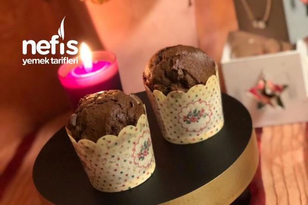 Muffins Çikolatalı Parçacıklarla Tarifi