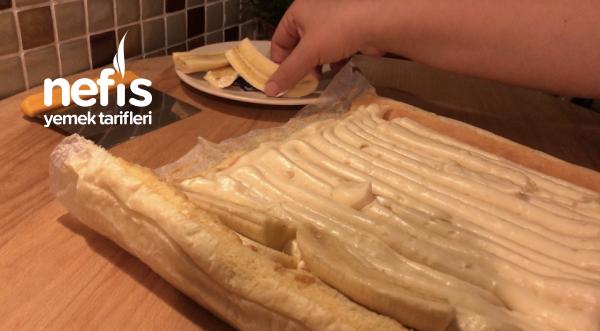Pamuk Rulo Pasta Yapımı