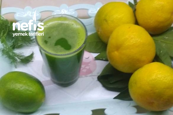 Metabolizma Hızlandırıcı Maydanoz Dereotu Limon Kürü Tarifi