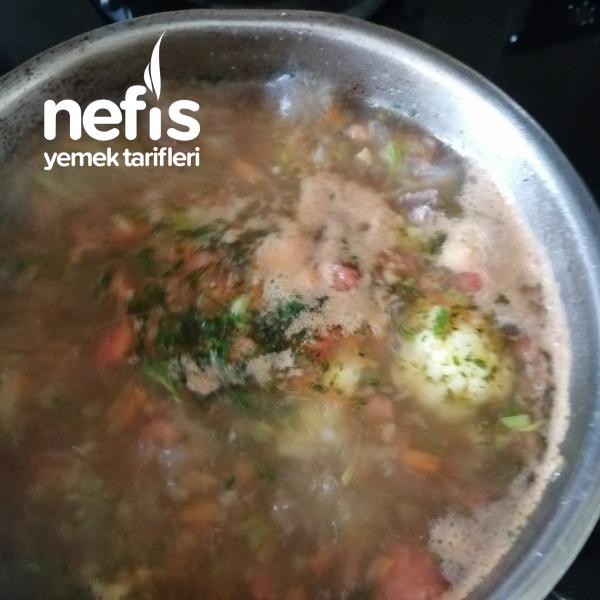 Bebişlere Sebzeli Çorba +9ay