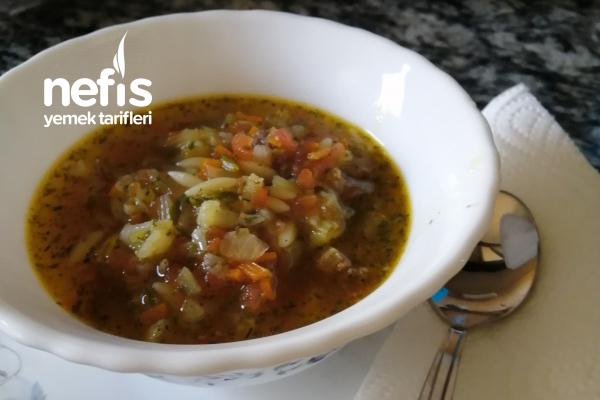 Bebişlere Sebzeli Çorba + 9 Ay Tarifi
