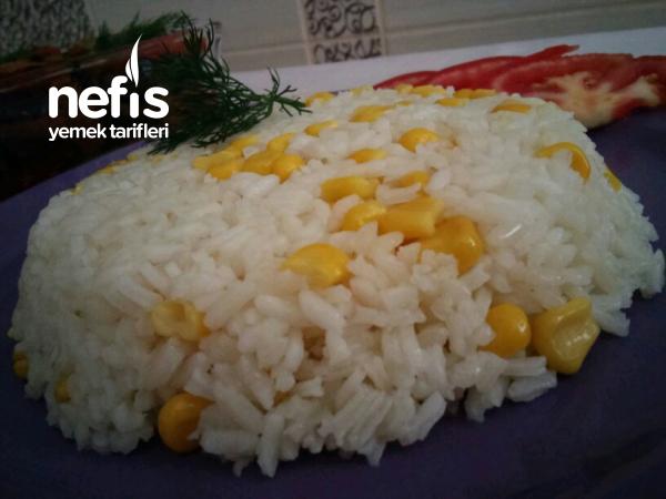 Mısırlı Tane Tane Pirinç Pilavı