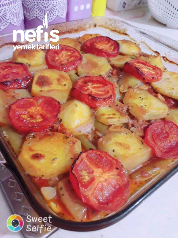 Patatesli Kıyma Basma