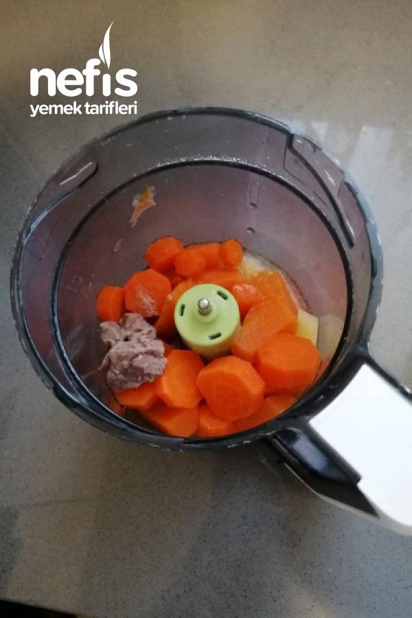 Bal Kabaklı Etli Sebze Püresi +6