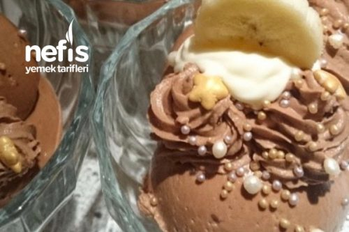 Çikolatalı Mus (Mousse Au Chocolat) Tarifi