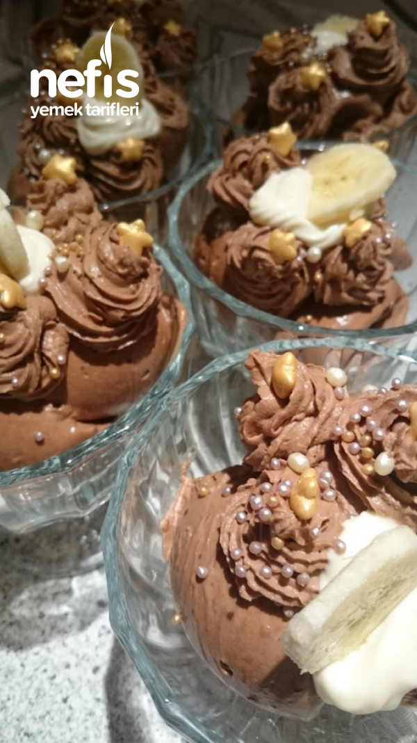 Çikolatalı Mus (Mousse Au Chocolat)