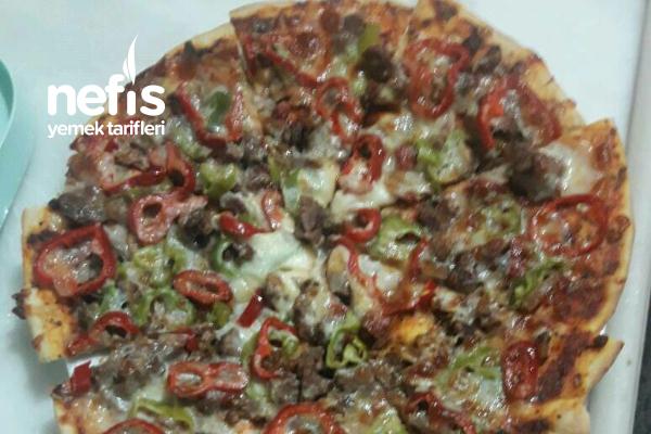 Kuşbaşılı Pizza Tarifi