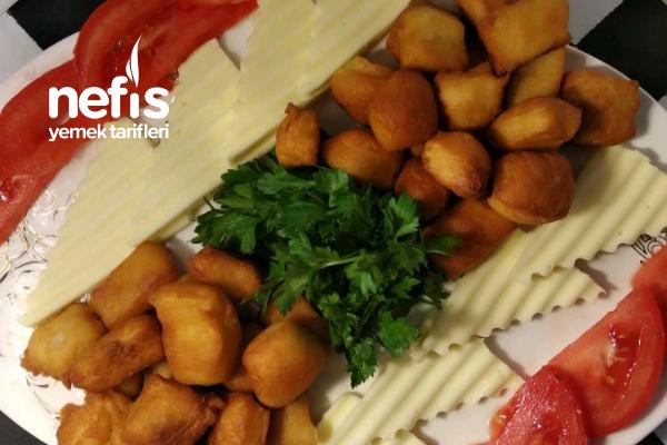 Nefis Kahvaltı Tabağı; Hamur Kızartması Tarifi