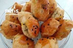 Peynirli Dereotlu Minik Poğaça (Enfes) Tarifi
