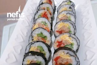 Kimbap (Kore Mutfağı) Tarifi