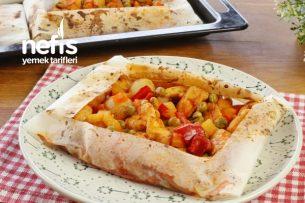 Lokum Gibi Pişmiş Tavuklu Kağıt Kebabı (videolu) Tarifi