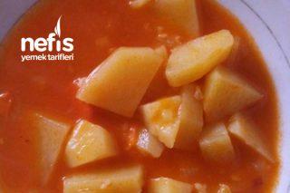 Bulgurlu Patates Tarifi