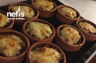 Fırında Güveçte Patates Püreli Et Sote Tarifi