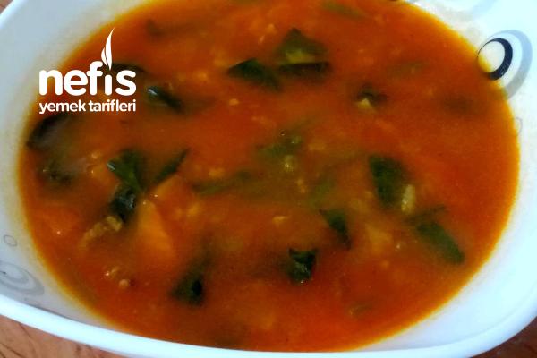 Şifa Kaynağı Ispanak Çorbası  (Videolu) Tarifi