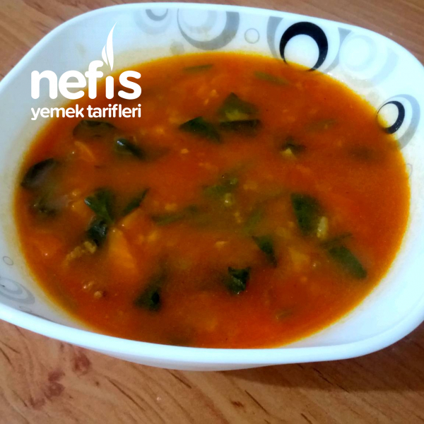Şifa Kaynağı Ispanak Çorbası