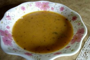 Taze Tarhana Çorbası Tarifi