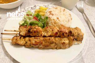 Kremalı Tavuk Şiş (Mutlaka Denemelisiniz) Tarifi