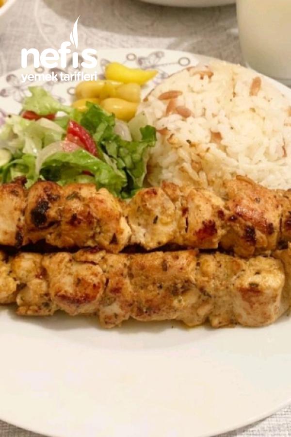 Kremalı Tavuk Şiş (mutlaka denemelisiniz)