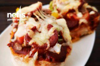 Lezzetine Doyum Olmayan Mini Pizza Tarifi