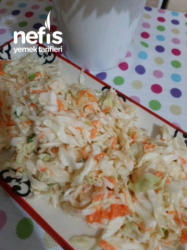 Coleslaw Salata (Lahana Salatası)