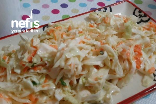 Coleslaw Salata (Lahana Salatası) Tarifi