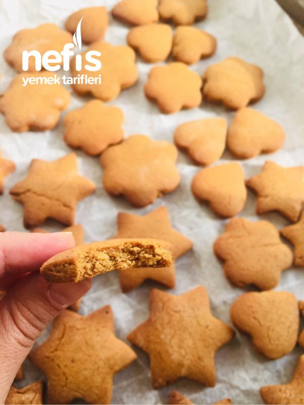 Kış Kurabiyesi (tarçınlı-zencefilli kurabiye)