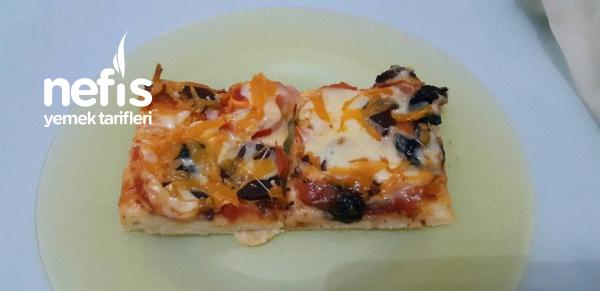 Mayasız 15 Dk Pizzası