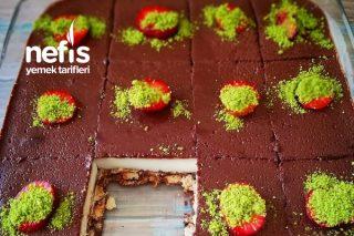 Soslu Mozaik Pasta Tarifi