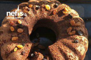 Üzümlü Damla Çikolatalı Kek Tarifi