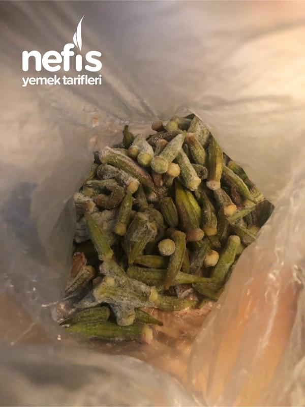 Zeytinyağlı Bamya Yemeği