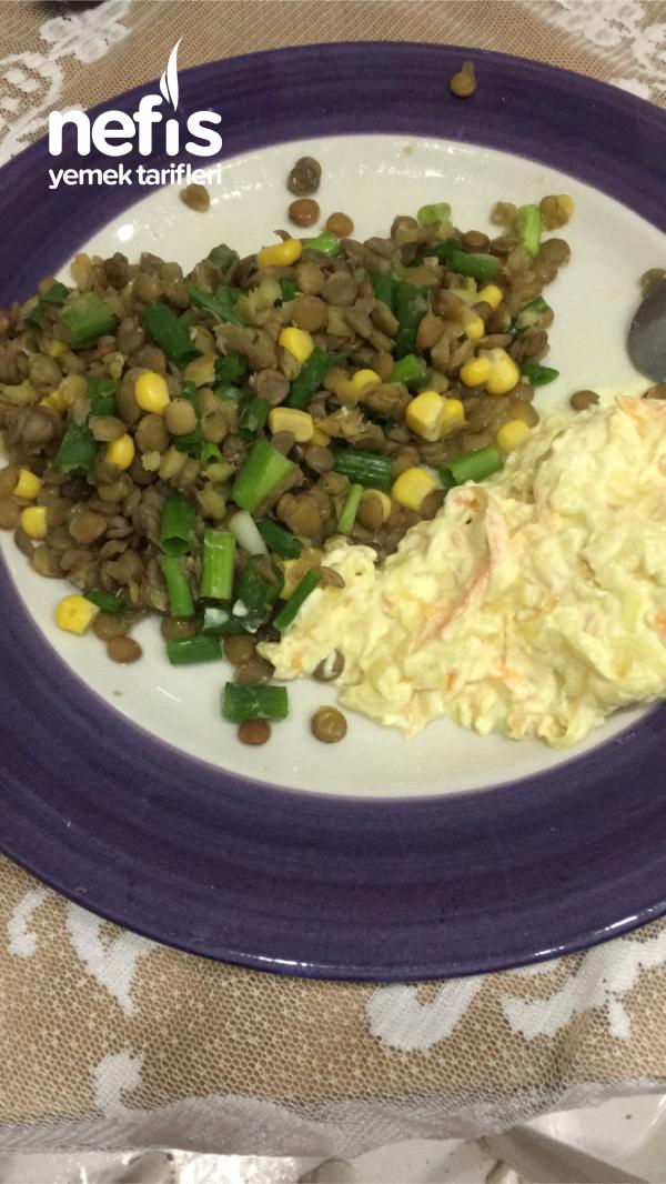 Diyet Kabak Havuç Salatası
