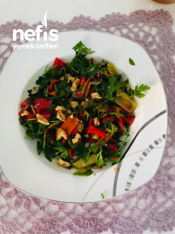 Izgara Biber Salatası