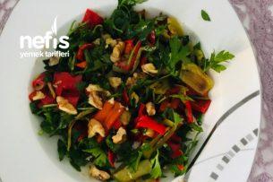 Izgara Biber Salatası Tarifi