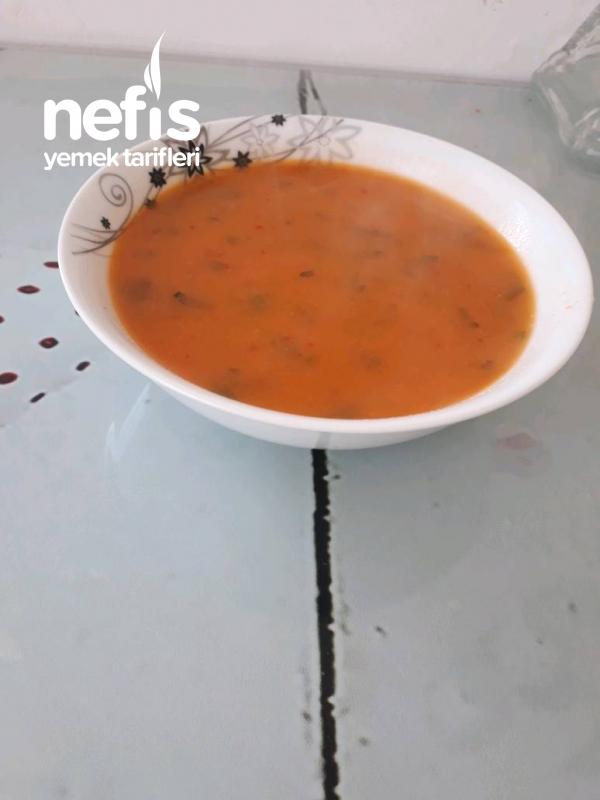 Pirinçli Mercimek Çorbası