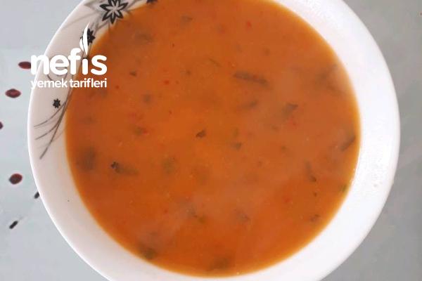 Pirinçli Mercimek Çorbası Tarifi