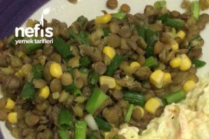 Yeşil Mercimek Diyet Salatası Tarifi