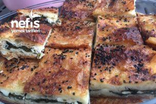 Baklava Yufkasından Ispanaklı Peynirli Börek Tarifi