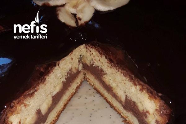 Muzlu Çikolatalı Kolay Pasta Tarifi