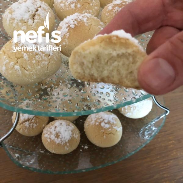 Pastane Kurabiye Krem Santili