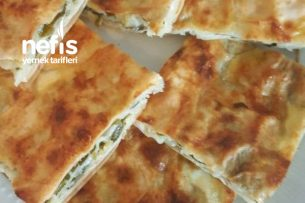 Sac Yufkasında Ispanaklı Börek Tarifi