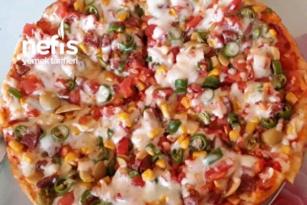 Tavada Pizza Tarifi