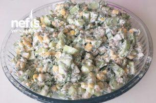 Yoğurtlu Cevizli Salata Tarifi