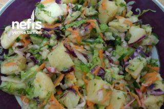 Anam Babam Usulü Patates Salatası Tarifi