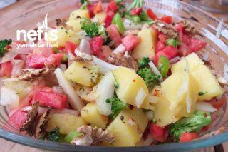 Cevizli Patates Salatası Tarifi