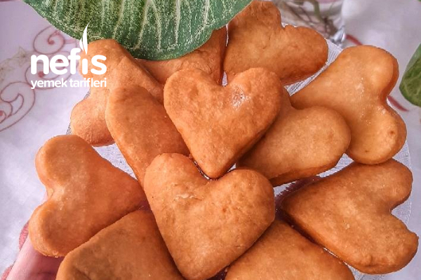 Kalpli Pişi (Pratik Hamur Kızartması) Tarifi