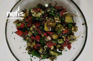 Kinoalı Avakado Salatası Tarifi