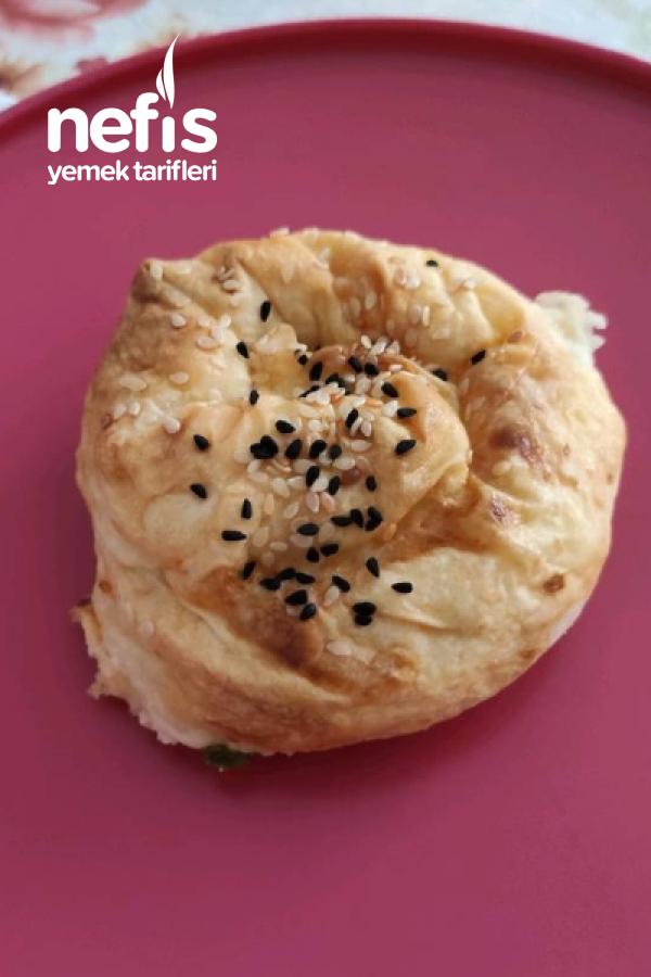 Puf Puf Kabaran Gül Böreği